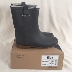 Women's Tretorn Rubber Boots Size 10 NWT